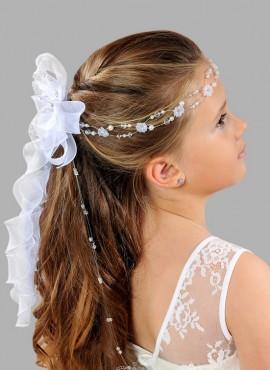 coroncine per capelli prima comunione con strass e perline vendita online