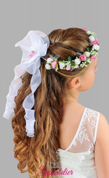 coroncine per capelli a fiori colorati prima comunione vendita online