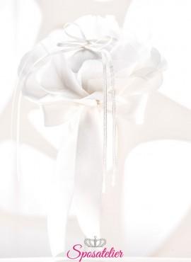 cuscini portafedi particolari vendita online bianco o avorio