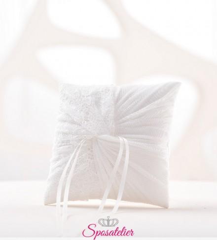 cuscino portafedi sposi color avorio nuova collezione 2018 2019