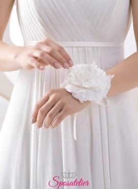 fiori da polso per sposa o damigella corsage online online collezione 2019