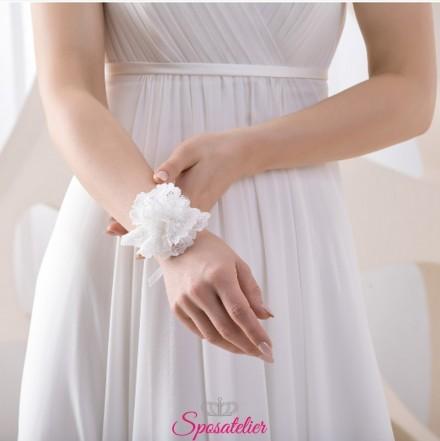 corsage da polso per sposa o damigella online economico collezione 2019