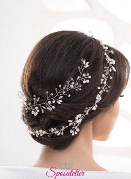accessorio per acconciatura sposa raccolata elegante vendita online