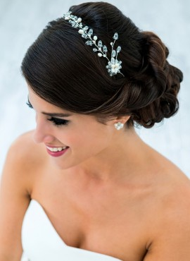 fermaglio per acconciatura sposa gioiello online decorato con punti luce
