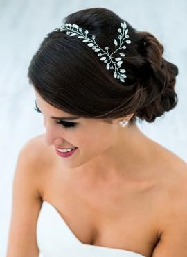 accessori capelli sposa online italia  per acconciatura elegante
