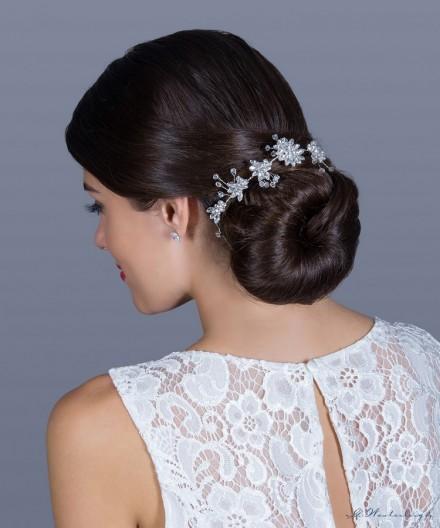Acconciatura sposa perfetta per pettinatura capelli raccolti