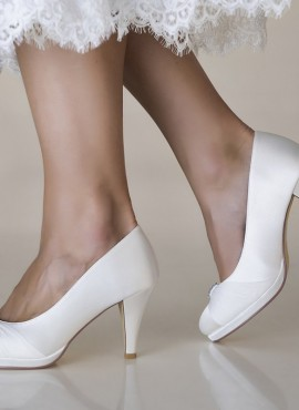 scarpe da sposa eleganti online tacco 7 collezione 2019