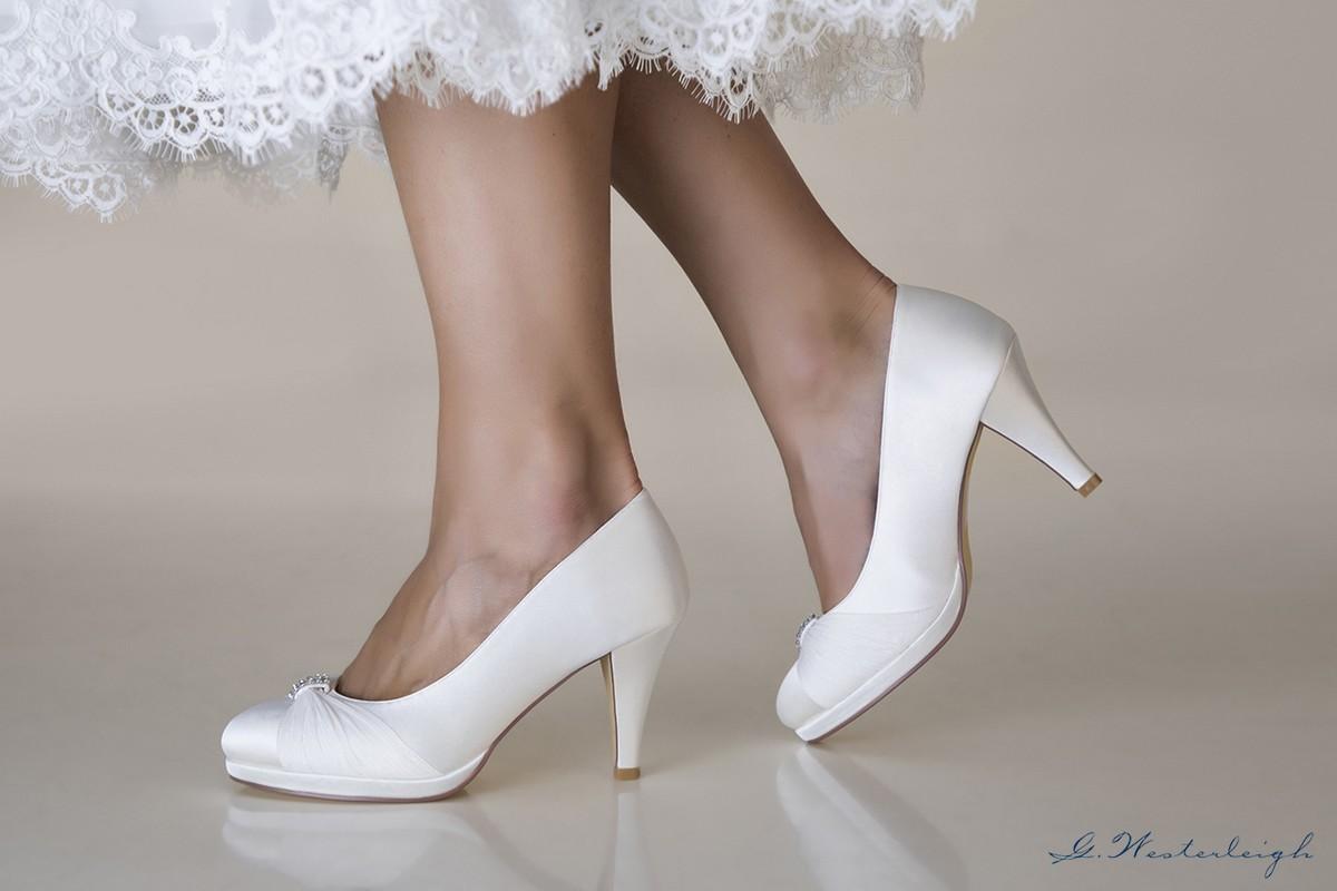 Scarpe Sposa 2018 On Line.Scarpe Da Sposa Eleganti Online Tacco 7 Collezione 2019sposatelier