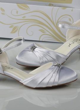 scarpe da sposa online basse eleganti tacco 3
