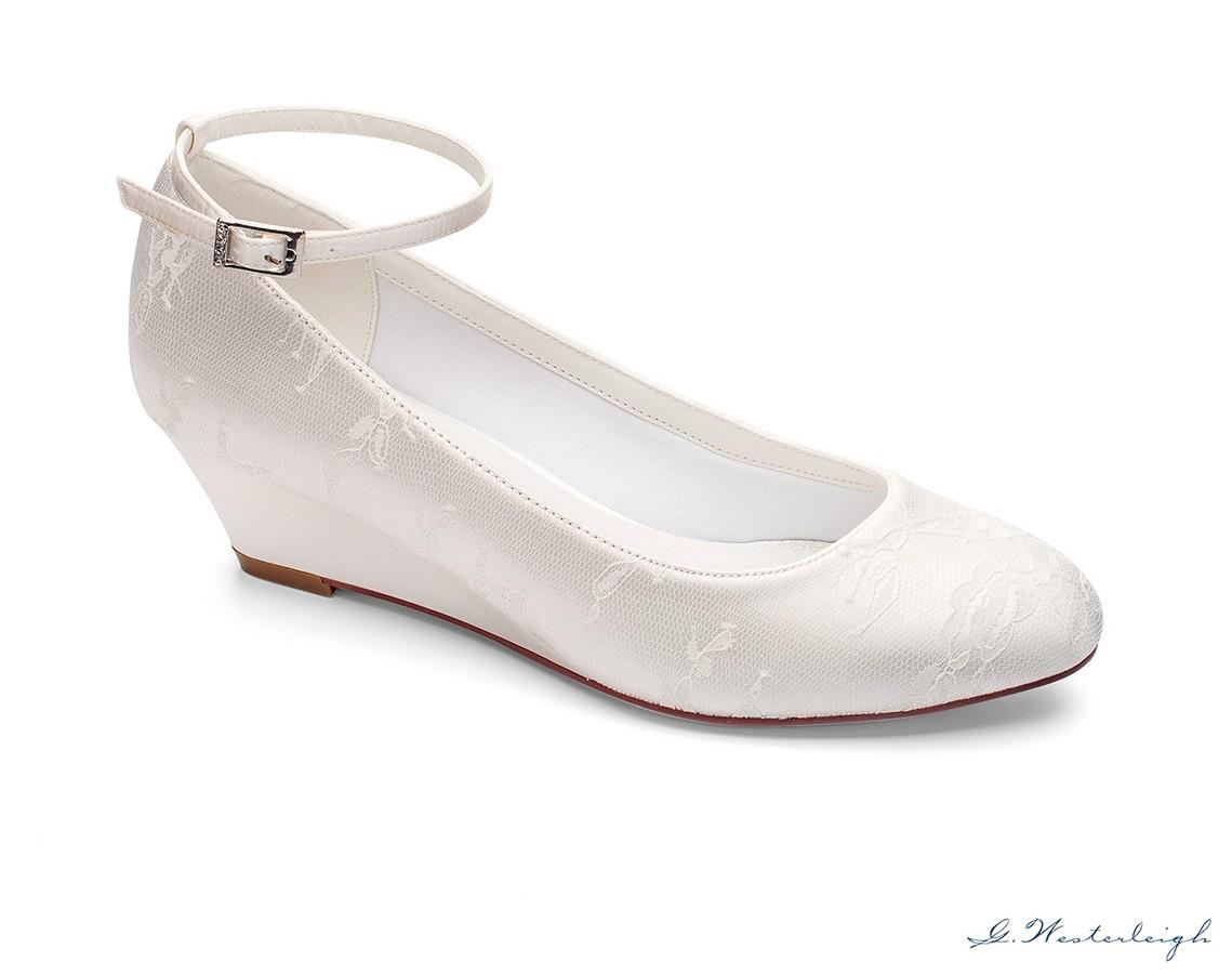 prezzi economici cercare vari stili scarpe da sposa con zeppa tacco 5 nuova collezione 2019Sposatelier
