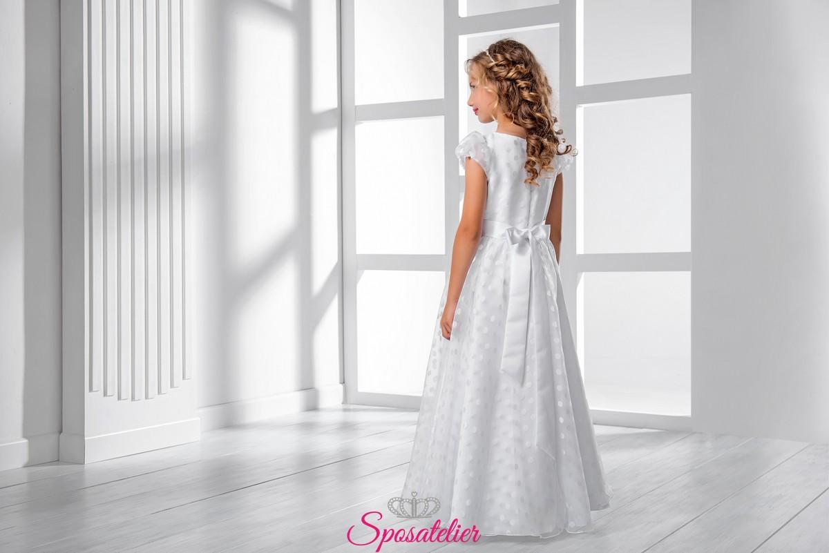 dca69100bb3e abiti prima comunione bambina collezione 2019 vendita onlineSposatelier
