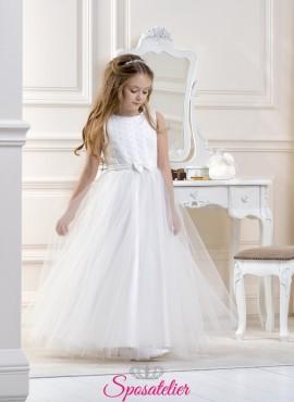 abito da bambina prima comunione 2019 particolare vendita online