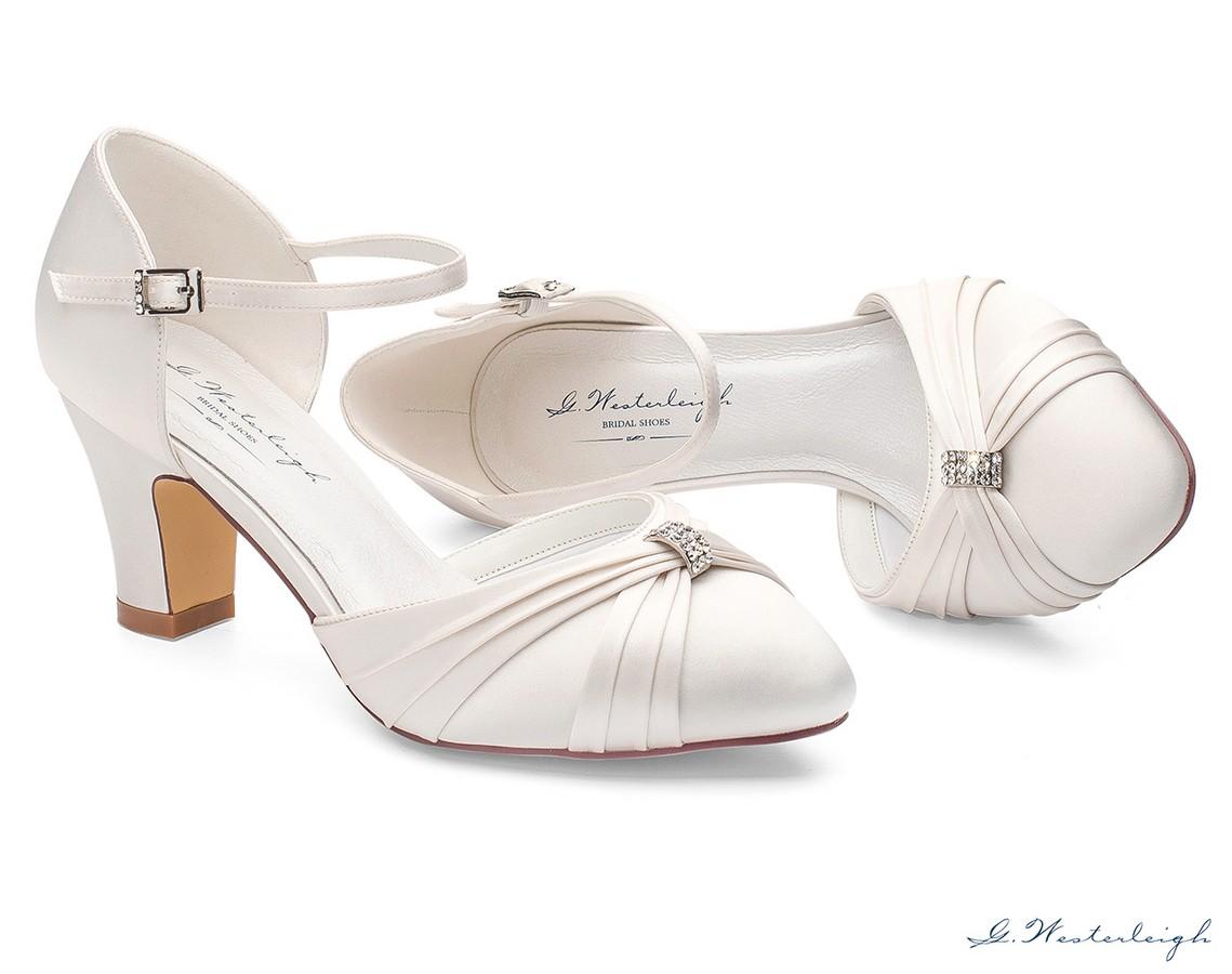 Scarpe Sposa Vendita On Line.Scarpe Sposa Basse Online Tacco 6 Cm Nuova Collezione 2019sposatelier