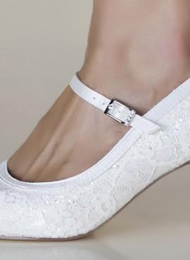 scarpe da sposa comode 2019 online economiche ricamate in pizzo