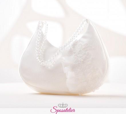 borsa sposa elegante online con ricamo collezione 2019