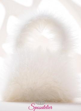 borsa di pelliccia ecologica online collezione 2019