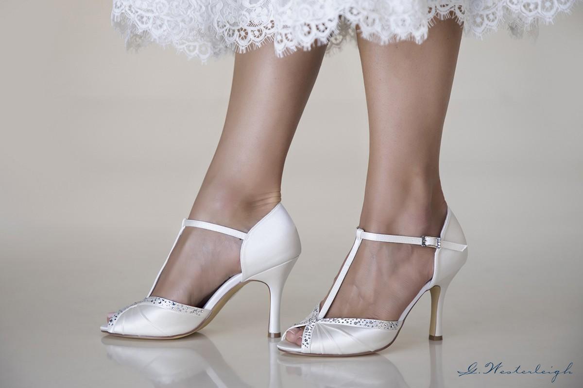 the best attitude 3a020 fa2a5 scarpe da sposa spuntate online economiche eleganti collezione 2019