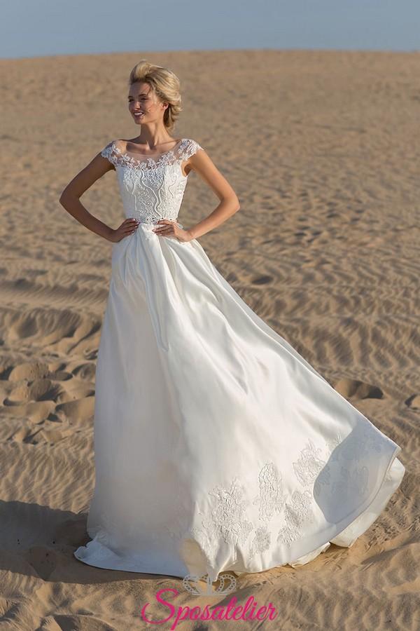 Vestiti Da Sposa Spiaggia.Abito Da Sposa Matrimonio In Spiaggia Tendenze Collezione