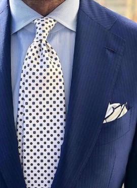 Cravatta bianca matrimonio