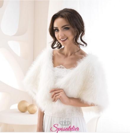 pelliccia sposa vendita online collezione 2019