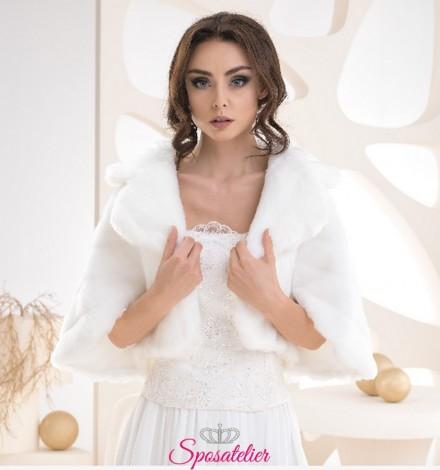 pelliccia sposa invernale vendita online collezione 2019
