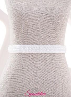 Cintura per abiti da sposa con perline e punti luce 2019 nuova collezione online