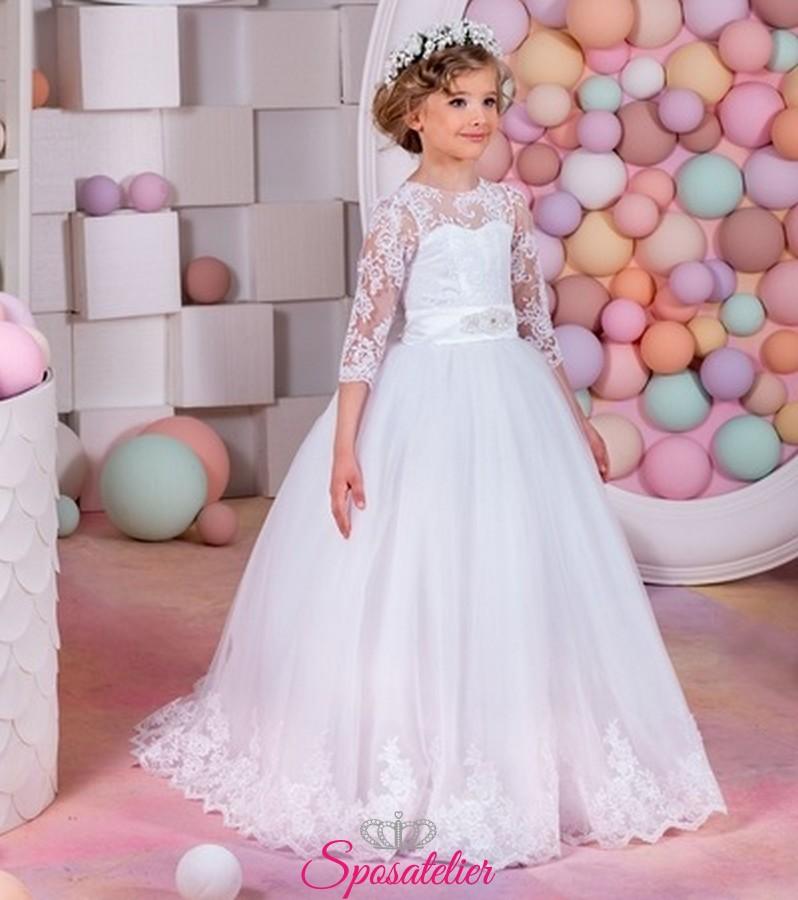 2470f585458e abito prima comunione bambina 2019 vendita onlineSposatelier