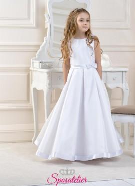 abiti prima comunione bambina bianco o avorio collezione 2019