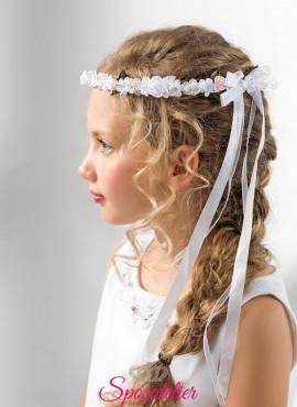 coroncina fiori bambina prima comunione vendita online collezione 2019