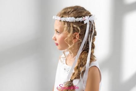 coroncina fiori bambina prima comunione vendita online