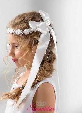 coroncine per capelli prima comunione bambina vendita online collezione 2019