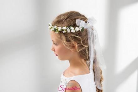 accessori capelli prima comunione bambina vendita online collezione 2019