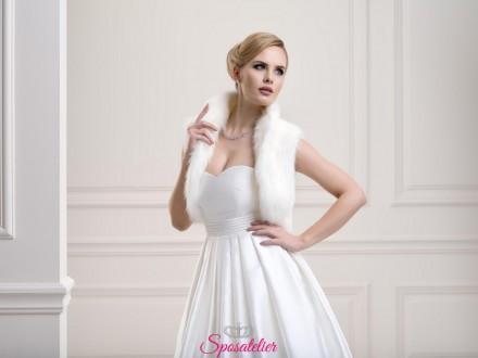 gilet sposa di pelliccia nuova collezione 2019 vendita online