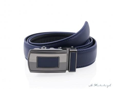Cintura uomo Blu elegante chiusura automatica top quality