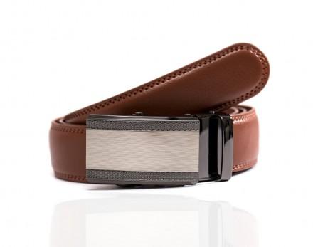 cintura uomo marrone elegante pelle di alta qualità