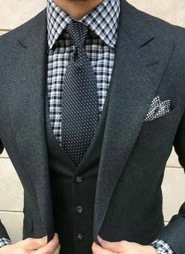 Cravatta classic model pois