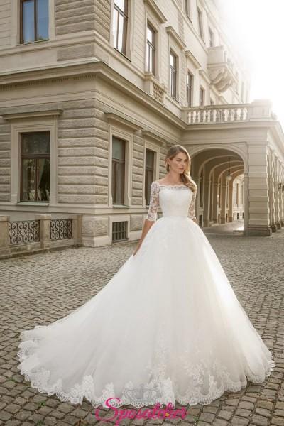 vestiti da sposa principessa online affidabili personalizzati su misura collezione 2019