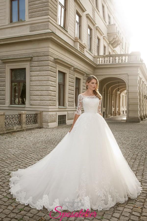 Vestiti Da Sposa Pomposi.Vestiti Da Sposa Principessa Online Affidabili Personalizzati Su