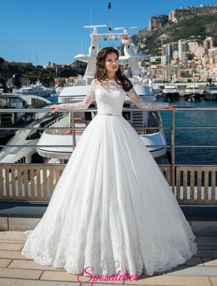 vestiti da sposa personalizzati su misura vendita online modello principessa