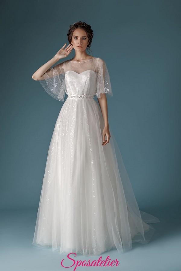 disponibilità nel Regno Unito cf977 5899a abiti da sposa 2019 2020 di tendenza collezione economica online