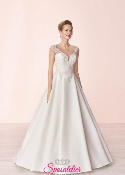 abiti da sposa stile principessa elegante e di classe 2019 2020