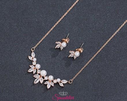 gioielli da sposa economici vendita online color oro rosa collezione 2019