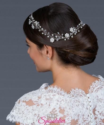 acconciatura capelli lunghi o raccolti per  sposa 2019 di tendenza