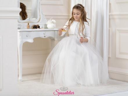 coprispalle comunione bambina elegante economico online collezione 2019