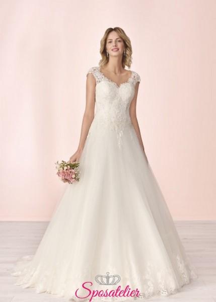 vestito da sposa economico online da principessa raffinato