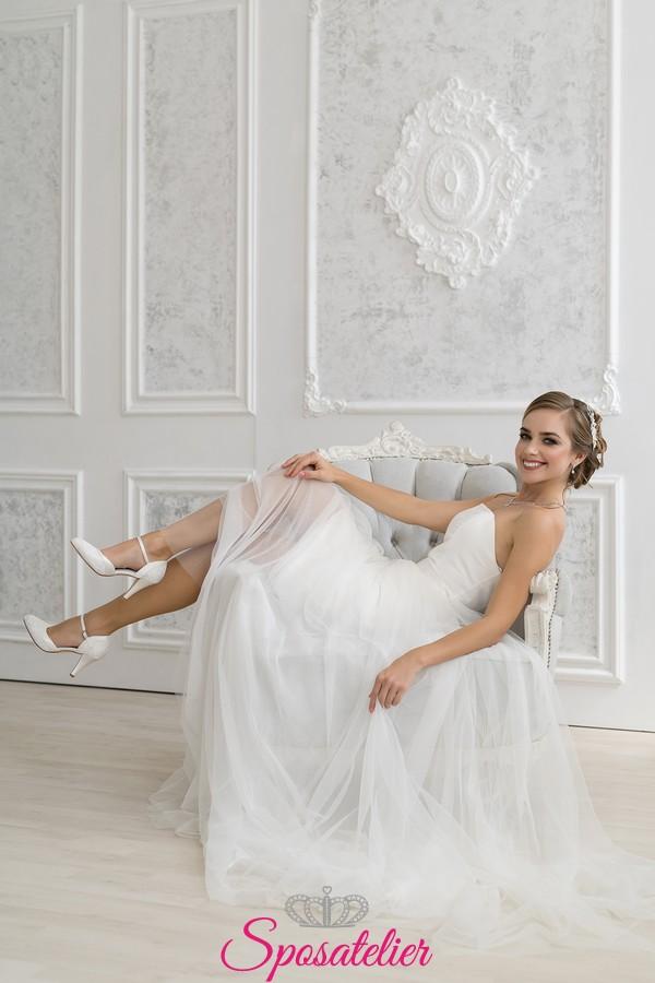 Scarpe Sposa Imola.Scarpe Da Sposa Online In Pizzo Collezione 2020 Tacco 8 Cm Color