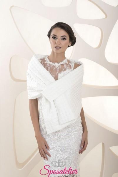 Stola sposa elegante per matrimonio nuova collezione 2020 online