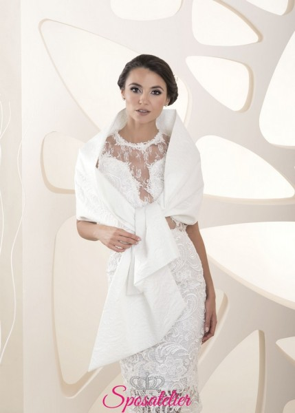 Stola sposa in Chiesa collezione 2020 online elegante