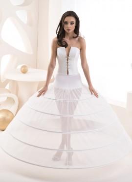 Sottogonna per abiti da sposa ampi modello 5 cerchi  COD. R26 510