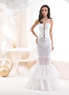 Sottogonna per abito da sposa a sirena 2020 COD. R8 190